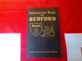 INSTRUCTION BOOK FOR BEDFORD TRUCK MODEL S